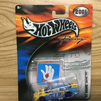 Hot Wheels 2001 Pit Board Cheerios 50153 Andretti.