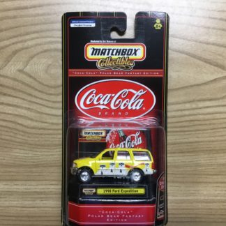 Matchbox Collectibles Coca Cola 1998 Ford Expedition Gift Pack.