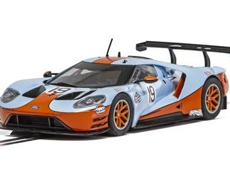 Scalextric C4034 Ford GT GTE #19 Gulf Edition.