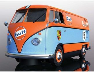 A Pre-Order Scalextric C4060 VW Bus Gulf Edition.