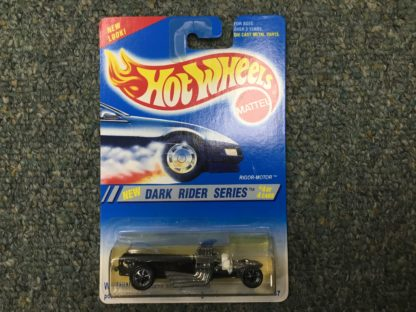 Hot Wheels Rigor Motor Dark Rider Series #13287 1994 Black #4 of 4.