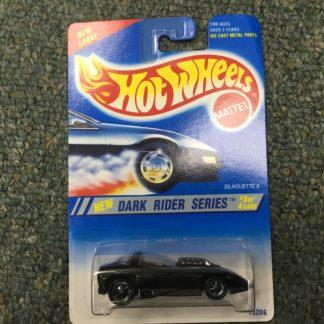 Hot Wheels Silhouette ll Dark Rider Series #13286 1994 Black #3 of 4.