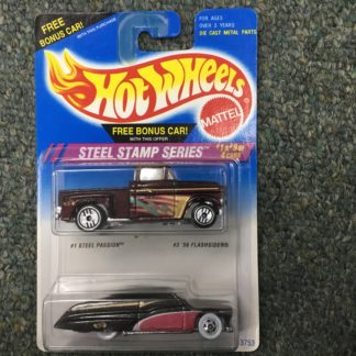Hot Wheels Steel Stamp Series 2 Pack Flashsider Purple Passion.