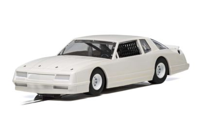 Scalextric C4072 White Chevrolet Monte Carlo Nascar 1/32 Slot Car.