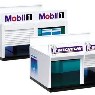 Carrera 21104 Pit Box Double Garage Door.