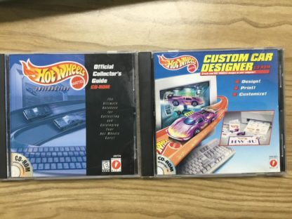 Hot Wheels Custom Car Designer and Collector Guide, 2 CD's.