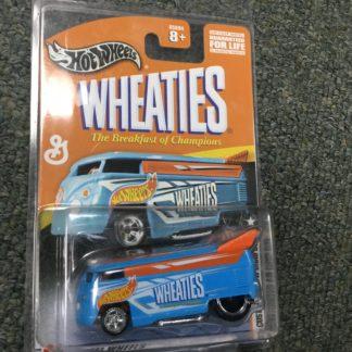 Hot Wheels Wheaties VW Micro Bus Van Dragster. Box 3