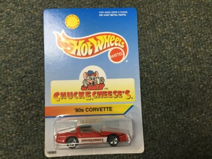 Hot Wheels Chuck E Cheese 80's Corvette Special Edition.