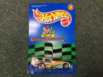 Hot Wheels Chuck E Cheese Dragster Special Edition.