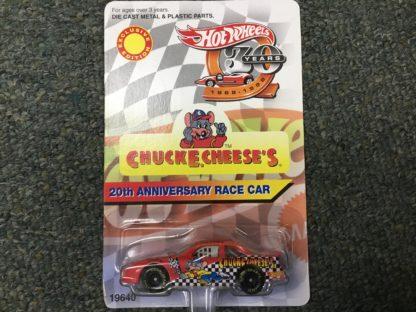 Hot Wheels Chuck E Cheese Nascar 20th Anniversary Special Edition. Box 3