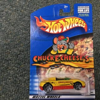 Hot Wheels Chuck E Cheese MX48 Turbo Special Edition.