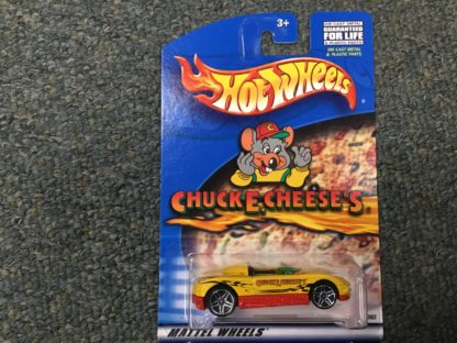 Hot Wheels Chuck E Cheese MX48 Turbo Special Edition.