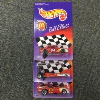 Hot Wheels McDonald's Racing Team 3 Car Set Elliott, Mac, Pedregon.