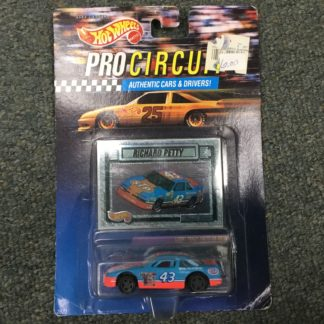 Hot Wheels Pro Circuit Richard Petty Nascar. Box 3