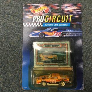 Hot Wheels Pro Circuit Scott Sharp Camaro. Box 3