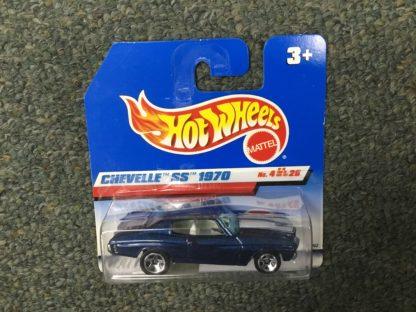 Hot Wheels European Card 1970 Chevelle SS. Box 4