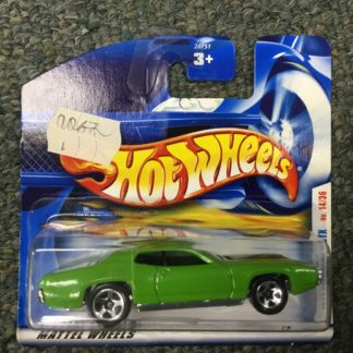 Hot Wheels European Card 1971 Plymouth GTX.