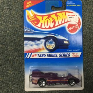Hot Wheels 1995 Model Series Power Rocket 11 of 12. Box 4