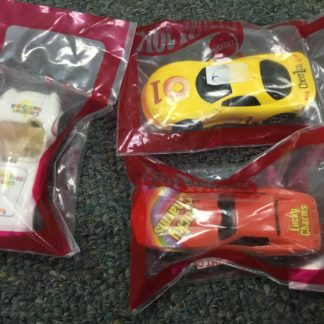 Hot Wheels 3 Cereal Cars, 3 Car Set. Lucky Charms, Cherios, Toast Crunch. Box 3
