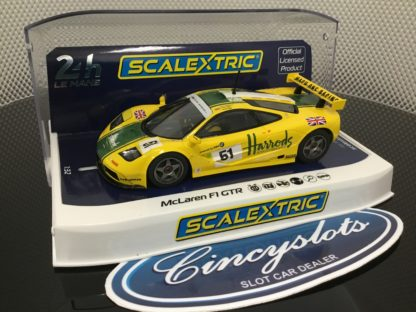 Scalextric C4026 McLaren F1 GTR Harrod's 1/32 Slot Car.