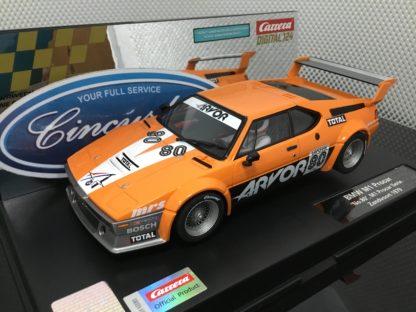 Carrera D124 23872 BMW M1 Procar #80 1/24 Scale.