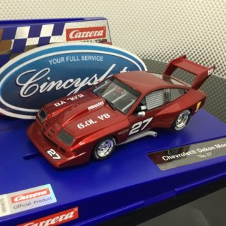 Carrera D132 30905 Chevrolet Dekon Monza #27 1/32 Scale Slot Car.