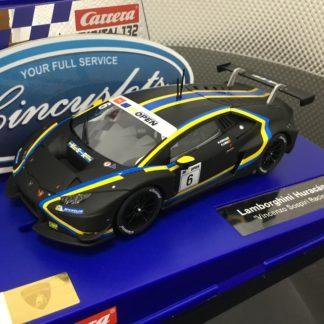 Carrera D132 30872 Lamborghini Huracan GT3 #6 1/32 Scale Slot Car.