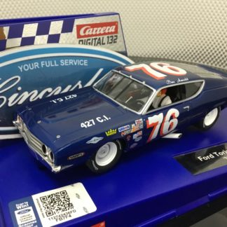 Carrera D132 30907 Ford Torino Talladega Arnold #77 1/32 Scale Slot Car.
