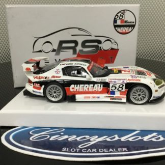 RevoSlot RS0034 Dodge Viper #58 Chereau 1/32 Slot Car.