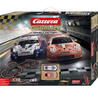 Carrera 23628 Digital 124 Double Victory W/Wireless controllers.
