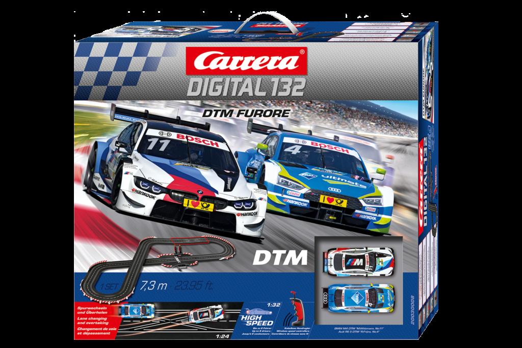 Carrera D132 30008 Dtm Furore Digital Slot Car Set