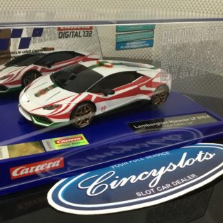 Carrera D132 30876 Lamborghini Huracan LP 610-4 Safety Car Slot Car.