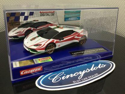 Carrera D132 30876 Lamborghini Huracan LP 610-4 Safety Car Slot Car.