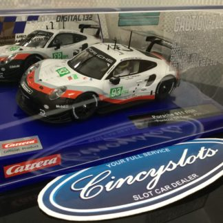 Carrera D132 30890 Porsche 911 RSR GT Team #93 Slot Car.