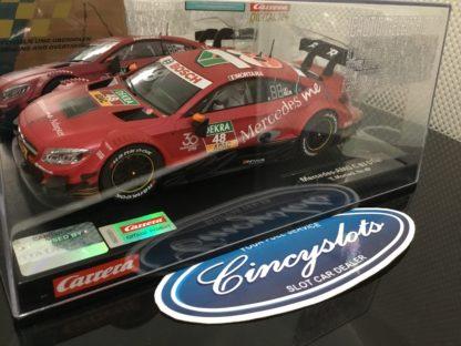 Carrera D124 23882 Mercedes AMG C 63 DTM #48 Slot Car.