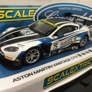 Scalextric C4027 Aston Martin Vantage GT3. 1/32 Slot Car.