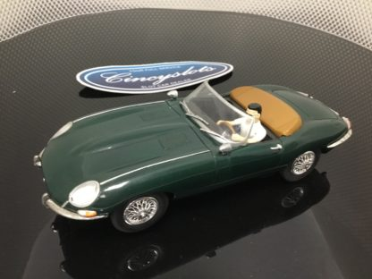 Carrera Exclusiv 20485 Green Jaguar, Lightly Used.