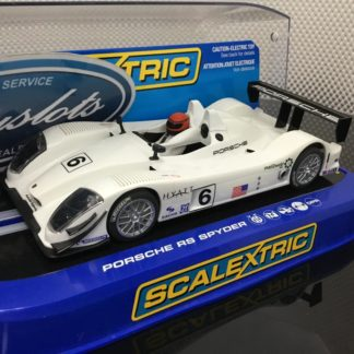 Scalextric C2906 Porsche RS Spyder. Lightly Used.