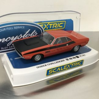 Scalextric C4065 Dodge Challenger 1/32 Slot Car.