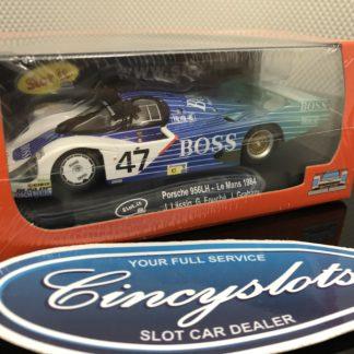 Slot.it Ca01i Porsche 956 LH BOSS Le Mans 1984 1/32 Slot Car.