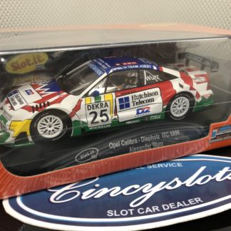 Slot.it Ca36d Opel Calibra V6 Diepholz 1996 1/32 Slot Car.