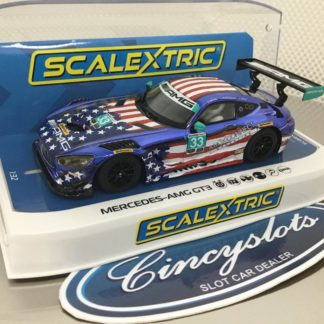 Scalextric C4023 Mercedes AMG GT3 Riley Motorsports 1/32 Slot Car.