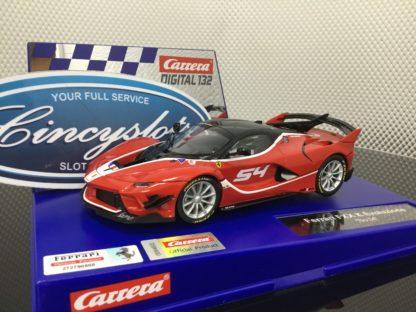 Carrera D132 30894 Ferrari FXX K Evoluzione 1/32 Slot Car.