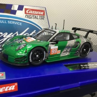 Carrera D132 30908 Porsche 911 RSR Proton Competition #99 1/32 Slot Car.