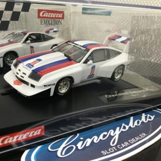 Carrera Evolution 27581 Chevrolet Dekon Monza 1/32 Slot Car.
