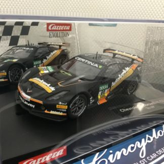 Carrera Evolution 27577 Chevrolet Corvette C7R 1/32 Slot Car.