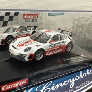 Carrera Evolution 27566 Porsche 911 GT3 RSR Lechner Racing 1/32 Slot Car.