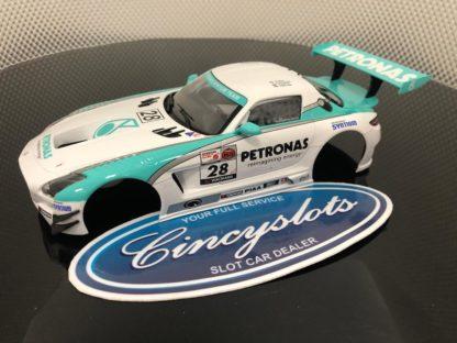 Carrera D124 Mercedes SLS AMG Body and Interior NEW.