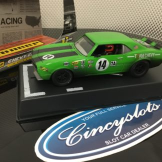 Pioneer P044 Chevrolet Camaro Weathered #14. 1/32 Slot Car.