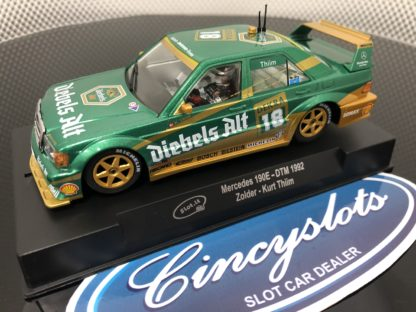 Slot.it CA44a Mercedes 190E DTM 1992 1/32 Slot Car.